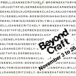 1988.11.03 - Beyond Craft - front