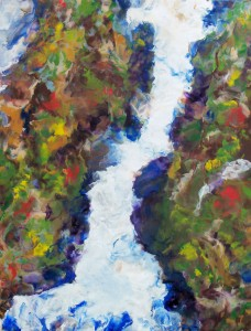 Beth Evans - Rainforest Waterfall