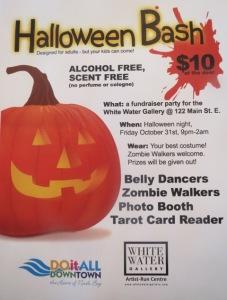 Halloween Bash poster