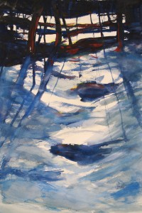 Janice Feist - A Walk in Winter, Muskoka