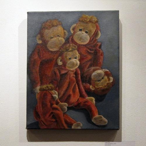 Lesley Lane: Five Little Monkeys