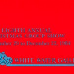1984.11.29 - The Eighth Annual Christmas Group Show - front