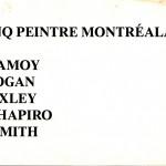 1990.04.05 - Cinq Peinture Montrealais - front